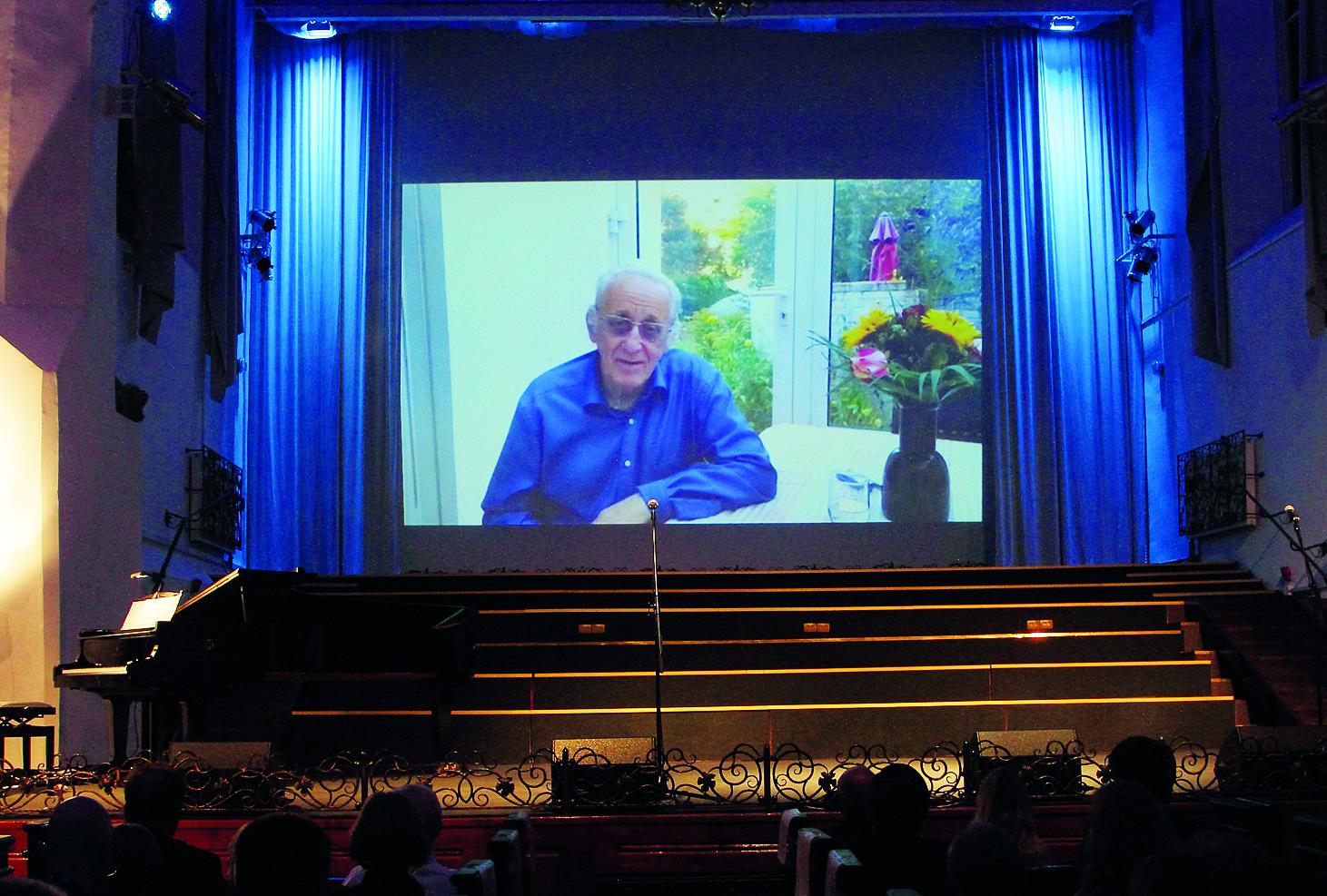 Видеообращение Наума Клеймана к зрителям фестиваля