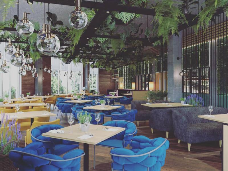Ресторан-гриль-бар «Базилик», Место